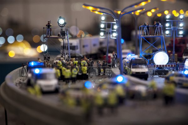 Jimmy Cauty, ADP The Aftermath Dislocation Principle, detail, Press on the Flyover, credits Mediamatic, photographer Irati Gostidi © 2016.