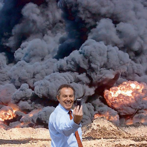 peter kennard tony blair