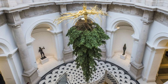 Shirazeh Houshiary Tate Britain Christmas Tree
